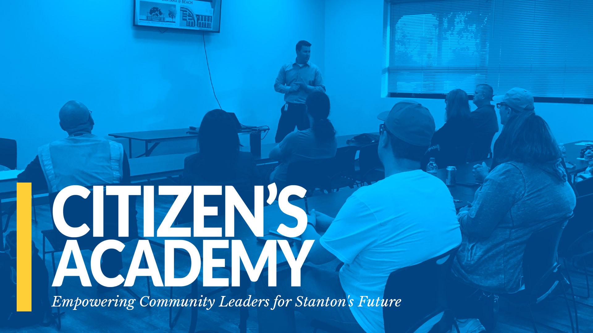 Citizens Academy Banner