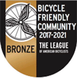 bike friendly badge